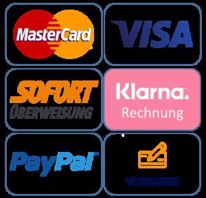 Zahlungsmöglichkeiten